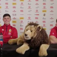Cowan-Dickie Warns Lewis Rees-Zammit He's Set For Another Fine Following Press Conference Slip