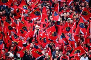 European Rugby Champions Cup Round 2, Thomond Park, Limerick 22/10/2016 Munster vs Glasgow Warriors A general view of fans at the game Mandatory Credit ©INPHO/Tommy Dickson