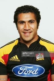 HAMILTON, NEW ZEALAND - DECEMBER 12: Mils Muliaina of the Waikato Chiefs poses during a team portrait session December 12, 2005 in Hamilton, New Zealand. (Photo by Getty Images for Waikato Chiefs) *** Local Caption *** Mils Muliaina