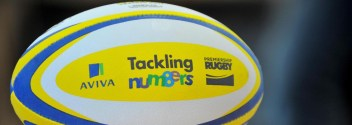 is supporting Aviva Tackling Numbers, an innovative maths programme for 7-9 year olds. The programme aims to improve numeracy levels through rugby based excercises and is run in partnership with Premiership Rugby. . PHOTO: Mandatory by-line: Garry Bowden/Pinnacle - Tel: +44(0)1363 881025 - Mobile:0797 1270 681 - VAT Reg No: 183700120 - 070115 - Aviva Premiership rugby, Bishop Perrin Church of England Primary School, Hospital Bridge Road, Twickenham, London, UK