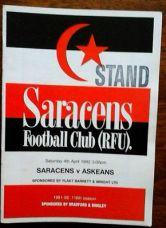 saracens-rfc-v-askeans-rfc-4-4-1992