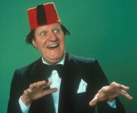 TOMMY COOPER IMAGE PROVIDED BY CHANNEL 5