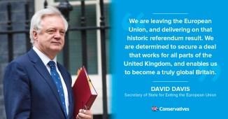 FB David Davis quote graphic Brexit talks 19 June 2017