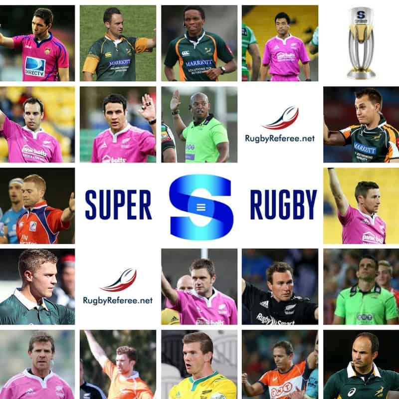 Super Rugby 2017 referees
