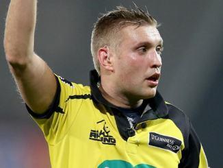 David Wilkinson Pro 14 Rugby referee