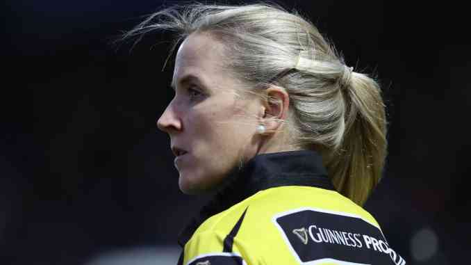 Joy Neville makes European referee history as she referees men's fixture in Bordeaux