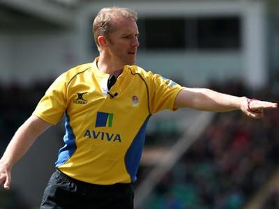 Wayne Barnes tops Premiership Rugby top referees list