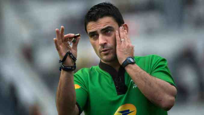 Top 14 Rugby referee, Cedric Marchat