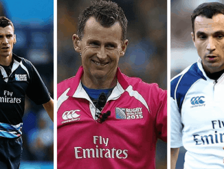 Pascal Gauzere, Nigel Owens & Mathieu Raynal all referee on weekend one of the Nat West 6 Nations 2018