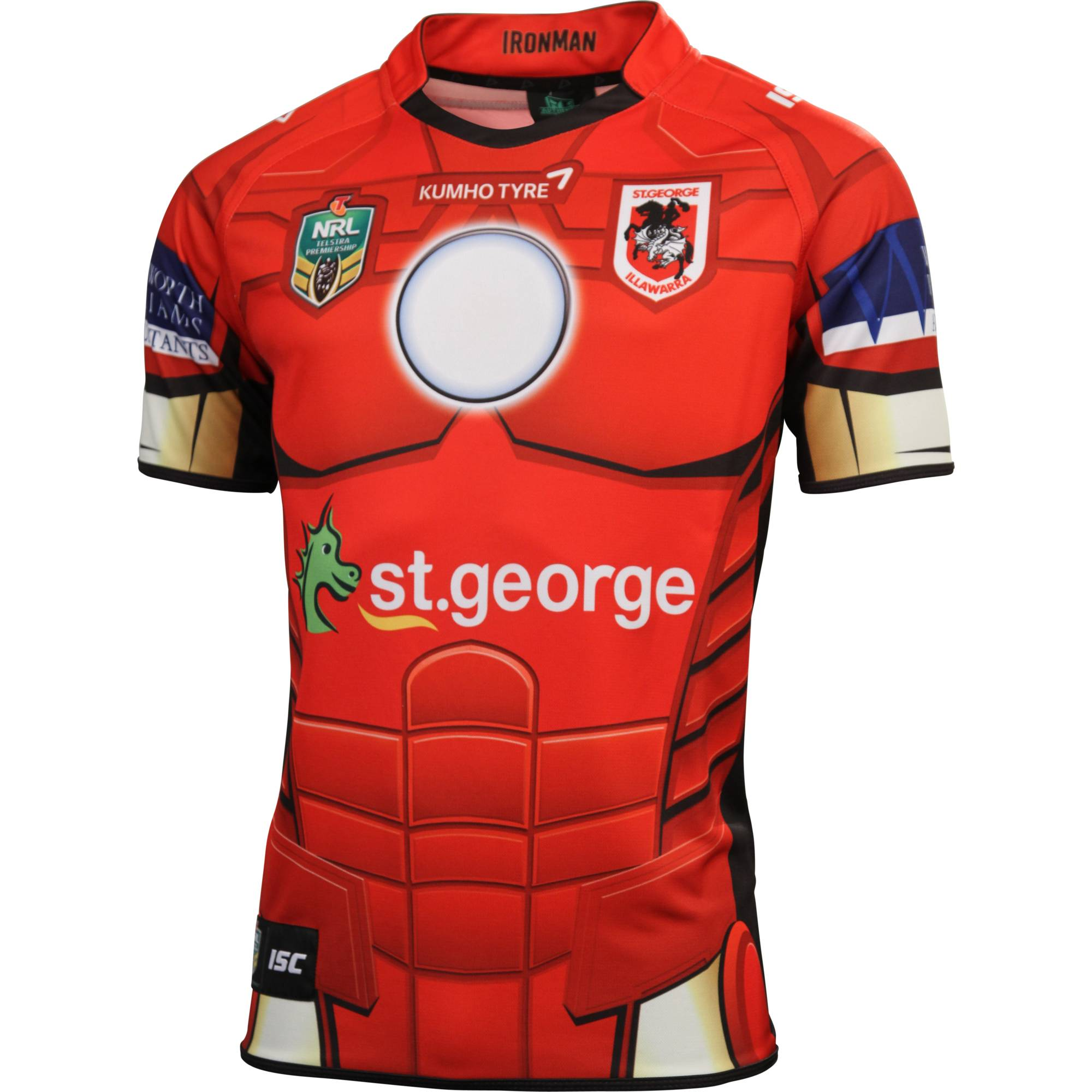 NRL 2014 ISC Marvel Heroes Shirts Rugby Shirt Watch