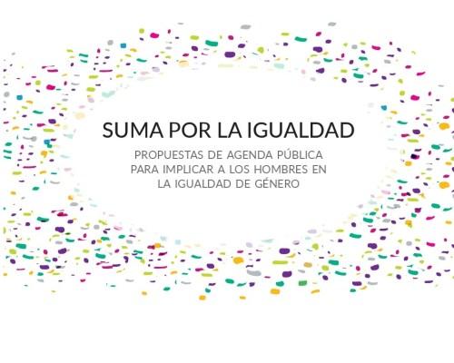 Agenda Suma: hombres por la Igualdad de Género