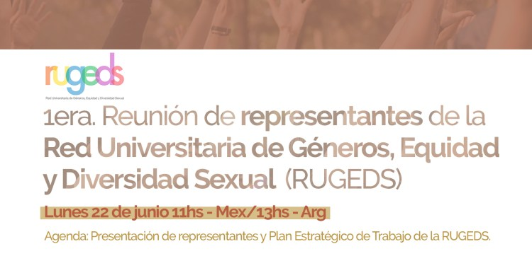 primera reunión de representantes RUGEDS