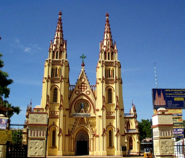 Photo Of The Week : St. Mary's Cathedral Church Madurai ...