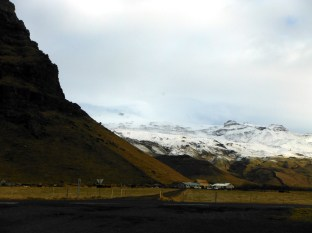 Eyjafjallajokull from the flood plain