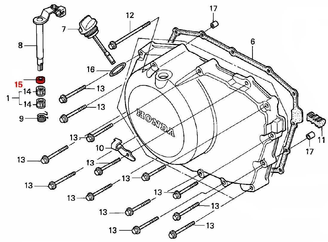 Oem Honda Oil Seal Clutch Rod 12x18x5 Arai