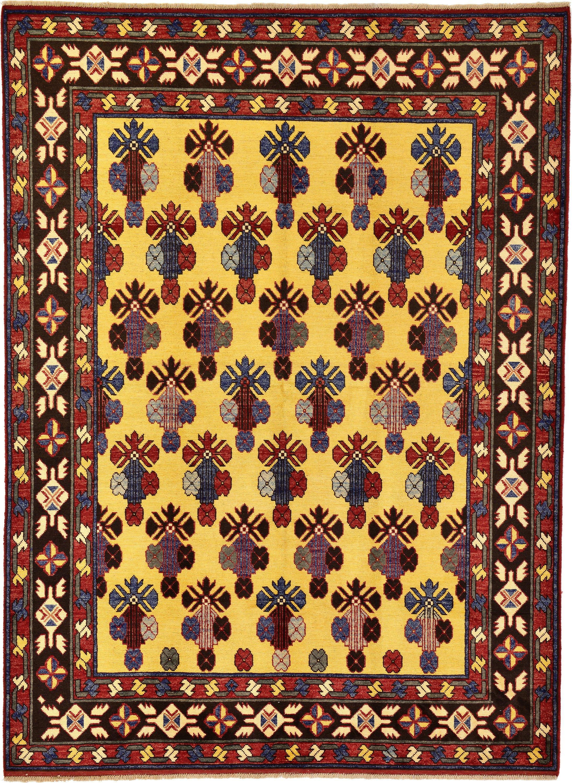 Gold 178cm X 240cm Kazak Oriental Rug Oriental Rugs Irugs Ch