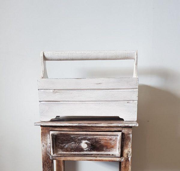 KA 01 Hazel Crate With Handle Wood