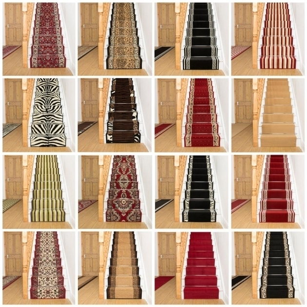 Rug Runners For Stairs Home Interior Decor With Carpet Runners   Stair Rug Runners Cheap   White   Hardwood   Brown   Interior   Woven