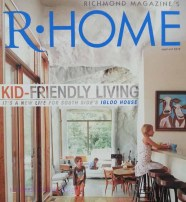 Richmond Home magazine, which featured the Igloo Home.