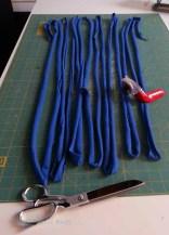 Strip cutting detail.