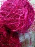 Pink eyelash add-in.