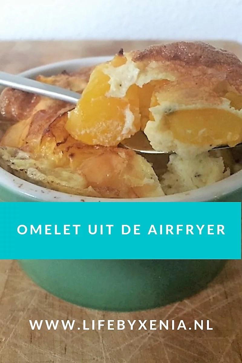 Omelet uit de airfryer