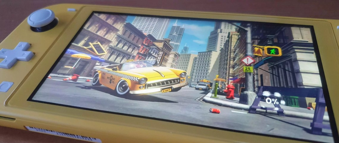 Taxi Chaos Switch Lite