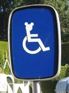 Disability Parking Sign at Disney. Image from: http://themagicalworldof.com/