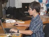 Young inventor Eric Zeiberg, 12, created the HandySpeech mobile application. Image from: http://pvamag.com/pn/