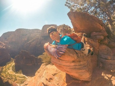 Hiking Zion National Park - Angel's Landing Trail