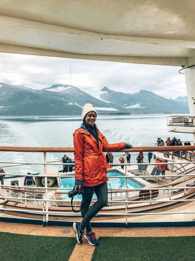 Cruise essentials for an Alaskan cruise! Packing tips for a cruise | Packing for a cruise | cruise hacks | cruise tips. Things to do in Alaska while cruising Ketchikan, Juneau, Skagway. Alaska cruise excursions | Alaska cruise Ketchikan | Alaska cruise Juneau | Alaska cruise Skagway. Booking a cruise | cruise checklist | Alaska cruise budget