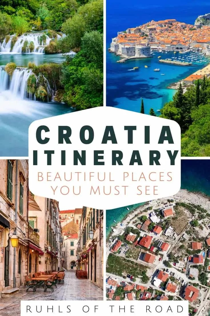 Croatia Itinerary Incredible Waterfalls Castles And Islands