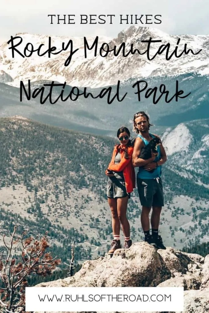 Best hikes in Rocky Mountain National Park in Colorado! Hike the Colorado Rocky Mountains and see incredible views of snowcapped mountains, tons of wildlife and stunning scenery! Use this 4 day itinerary to plan your trip to Rocky Mountain National Park in Colorado! Hike Colorado | Hiking Colorado | Hike Rocky Mountain National Park | Hike Rocky Mountains | Camp Rocky Mountain National Park | Wildlife Rocky Mountain National Park | US National Park | Colorado National Park | Things to do Rocky Mountain National Park#colorado #rockymountain #nationalpark