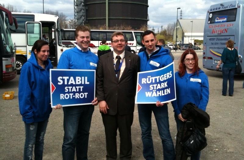 Wahlkampfauftakt in Oberhausen