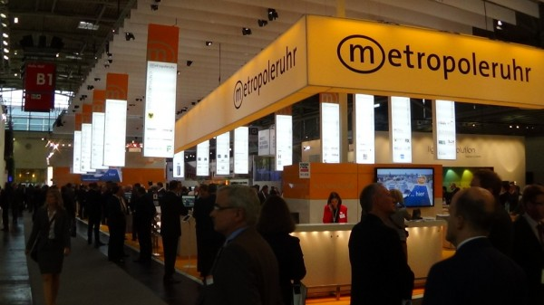 Expo Real 2013: Stand der Metropole Ruhr