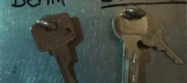 Schlüssel für Berlin und zuhause