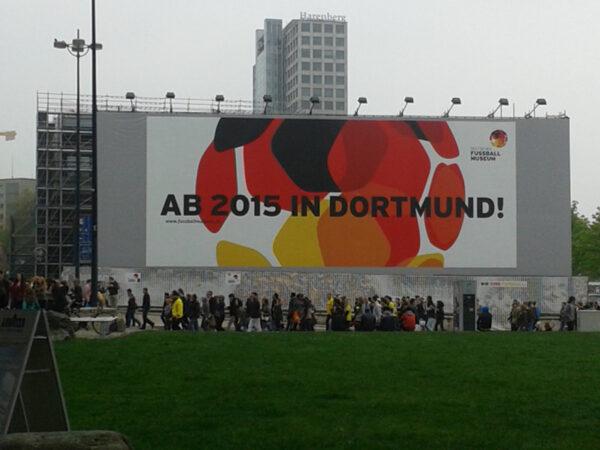 Ab 2015 in Dortmund: DFB-Fußballmuseum