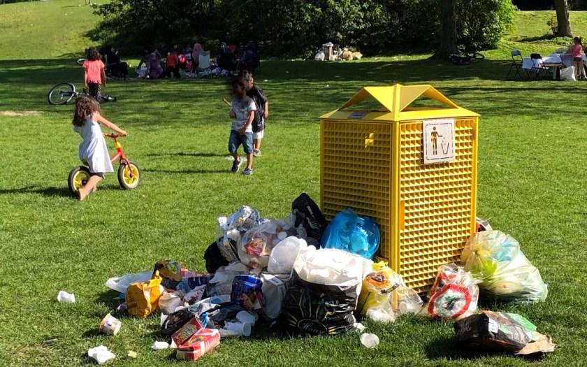 Müll auf Monte Schlacko, Watenscheid
