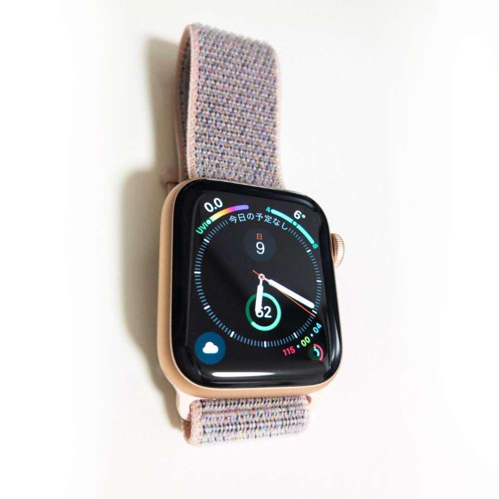 Apple Watch series4 40mmをレビュー