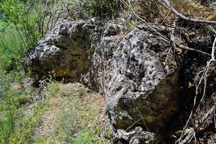 Cantera de piedras de molino Ruidera