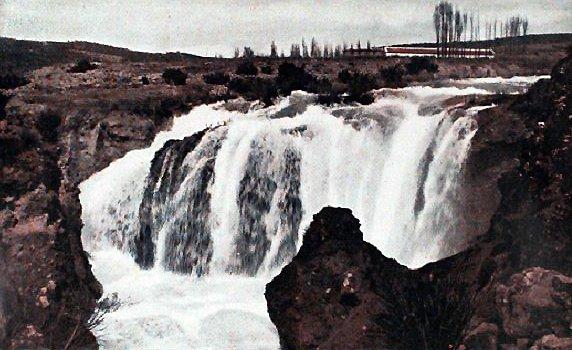 Cascada del Hundimiento en Ruidera en 1925
