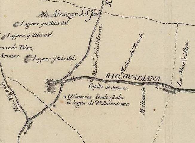 El Real Sitio de Cervera en 1769 - Ruidera treasures