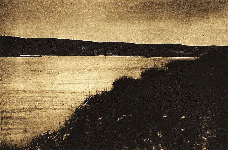 Laguna del Rey en 1930. Ruidera