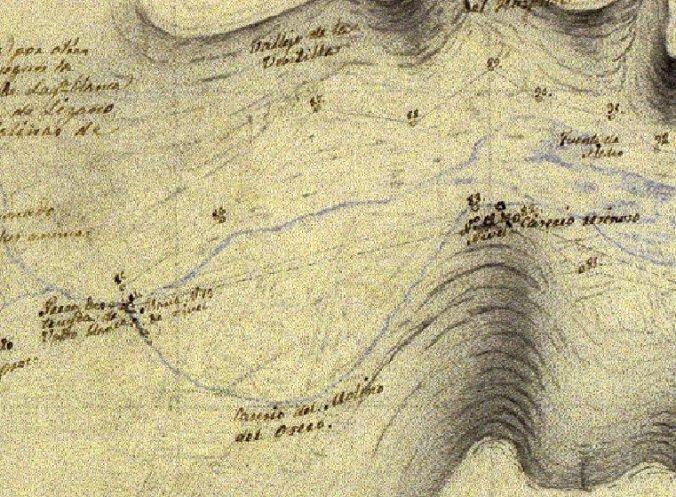 Caz del molino del Ossero en 1852