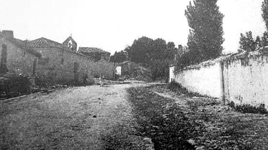 Antigua iglesia de Ruidera donde predicó D. Remigio Gandásegui y Gorrochátegui.