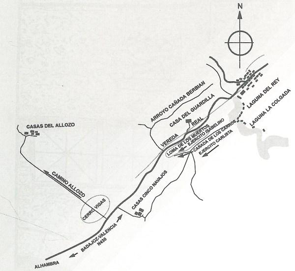 La Batalla de Ruidera de 1834