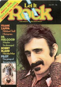 Let it Rock magazine- FRANK ZAPPA 1975