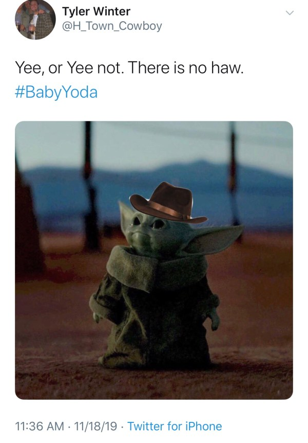 Bless Your Feed, Baby Yoda Memes Will (29 Memes)
