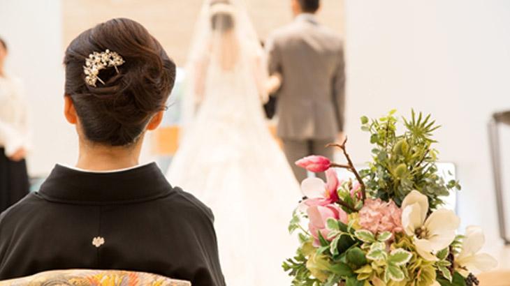 子供の結婚式で母親が着る服装や注意点は?アフタヌーンドレスとは?