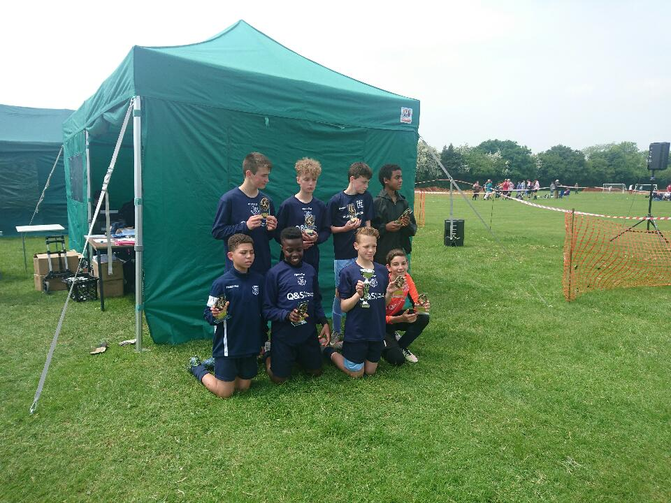 Under 12As win the Hazlemere tournament for the second year in a row